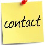 Contact du gestionnaire du site